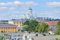 Parte-vista de Helsínquia foto de stock