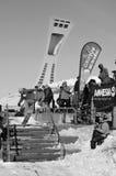 Partecipante allo snowboard Immagine Stock Libera da Diritti