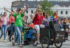 Partecipazione svedese della chiesa Fotografia Stock Libera da Diritti