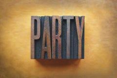 Partei Lizenzfreies Stockbild