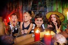 Partei auf Halloween Stockbilder