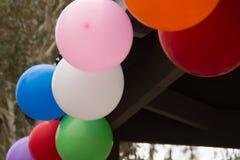Partei-Ballonhängen Stockfoto