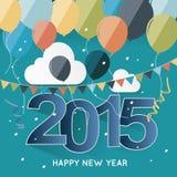 Partei des neuen Jahres stock abbildung