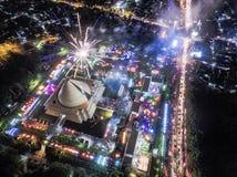 Partei 2017 des neuen Jahres Lizenzfreies Stockbild