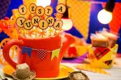 Partei Festa Junina Lizenzfreie Stockbilder