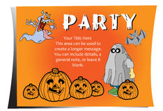 Partei Halloween stock abbildung