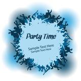 Partei-Leute-vektorauslegung Stockfotos