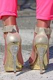 Partei-Schuhe Lizenzfreie Stockfotos