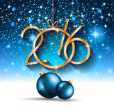 Parteiflieger des Weihnachten-2016 und guten Rutsch ins Neue Jahr- Stockbilder