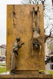 Parteigängerisches Monument durch ¹ Giacomo Manzà Lizenzfreie Stockfotos