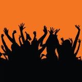 Parteileute-Farbkunst Lizenzfreies Stockbild