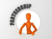 partenariat illustration stock