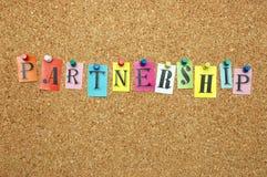 Partenariat image libre de droits