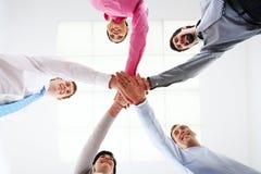 Partenariat d'affaires Photo stock