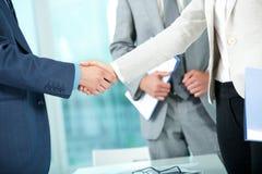 Partenariat d'affaires Photos stock