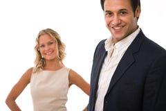 Partenariat d'affaires image stock