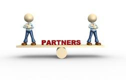 Partenership Fotografia de Stock Royalty Free