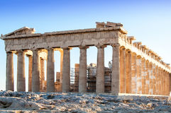 The Partenon in Athens, Greece Royalty Free Stock Photography