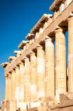 The Partenon in Athens, Greece Stock Photography