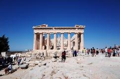 Partenon na acrópole fotografia de stock