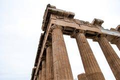 Partenon na acrópole em Atenas Grécia Fotos de Stock Royalty Free