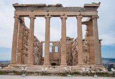 Partenon na acrópole em Atenas Grécia Fotos de Stock