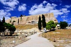 Partenone in acropoli Immagini Stock Libere da Diritti