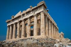Partenone in acropoli Fotografia Stock Libera da Diritti