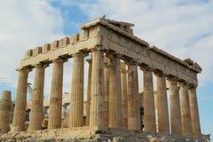 Partenone, acropoli Fotografia Stock Libera da Diritti
