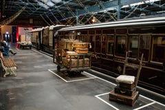 Partenza ferroviaria 3 di Yorkshire della stazione ferroviaria di York Fotografia Stock