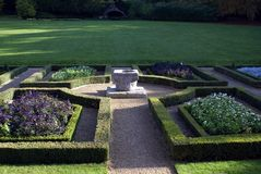 Parterre Royalty Free Stock Image