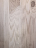Parterre zwart-witte Houten tablet Stock Foto