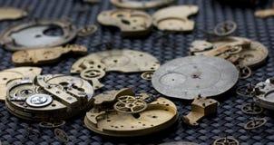 Partes 53 del reloj Fotos de archivo libres de regalías