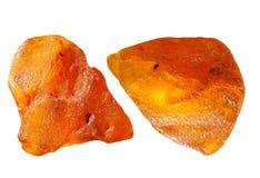 Partes ambarinas Foto de Stock