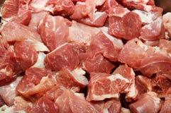 Partes da carne Foto de Stock Royalty Free
