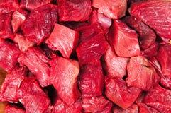 Partes da carne Fotografia de Stock Royalty Free