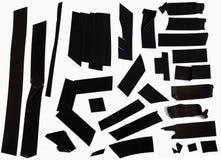 partes da fita adesiva Foto de Stock