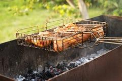 Partes da galinha fritada Imagens de Stock Royalty Free