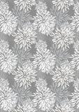 Partes da pétala da flor que crescem o teste padrão Imagem de Stock Royalty Free