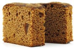 Partes de bolo holandês tradicional da sobremesa Fotos de Stock