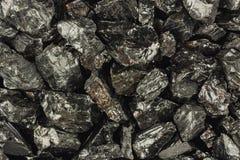 Partes de carvão cru Foto de Stock Royalty Free