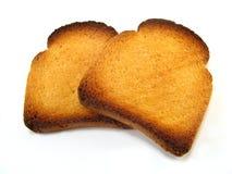Partes de la tostada de melba imagen de archivo libre de regalías