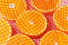 Partes de laranja Imagem de Stock Royalty Free
