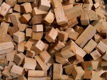 Partes de madeira Fotografia de Stock