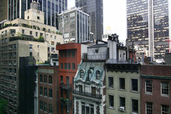 Partes de New York City imagens de stock royalty free