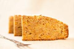 Partes de torta Imagem de Stock Royalty Free