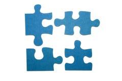Partes de um enigma 1 Fotos de Stock