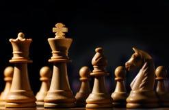 Partes de xadrez foto de stock royalty free