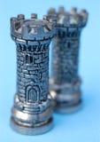 Partes de xadrez Imagens de Stock Royalty Free