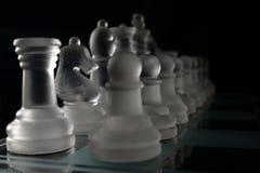 Partes de xadrez Foto de Stock